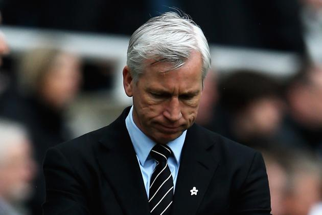 Pardew: 'We Are Not Safe'