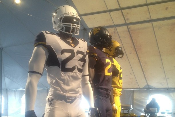 PHOTOS: West Virginia Unveils New Football Uniforms for 2013