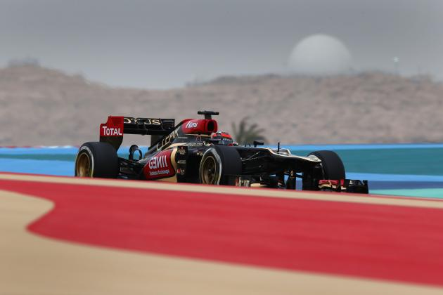 Bahrain Grand Prix 2013: Start Time, Lineup, TV Schedule and More