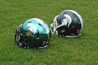 Michigan State to Remember Boston Victims with Helmet Decals