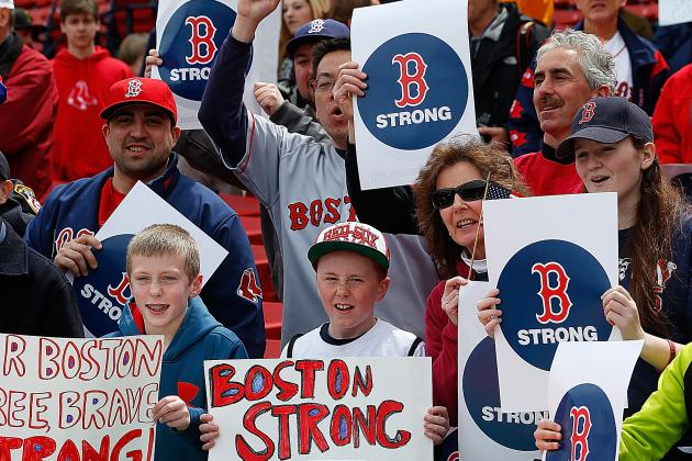 Here's Boston's Emotional Return to Sports at Fenway and TD Garden