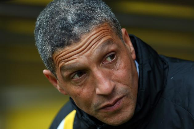 Chris Hughton Thinks Norwich Still Need Points to Secure Premier League Survival