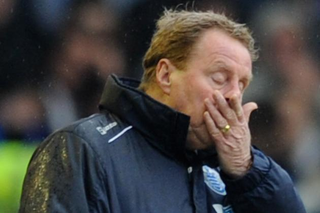 QPR Boss Harry Redknapp Is Left Hoping for a Miracle After Defeat