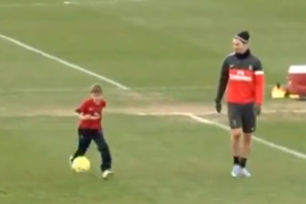 BECKHAM'S SONS UP AGAINST IBRAHIMOVIC and THIAGO SILVA