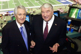 John Madden Reminisces at Pat Summerall Memorial