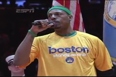Video: Carmelo Anthony, Paul Pierce Address Boston Marathon Bombing