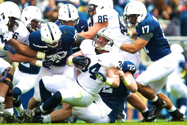 Penn State Spring Game 2013: Recap, Grades and Analysis