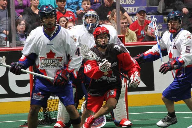 Calgary Roughnecks' Shawn Evans Having Career Year