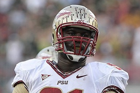 "Cornellius ""Tank"" Carradine Continues to Rise in NFL Draft"