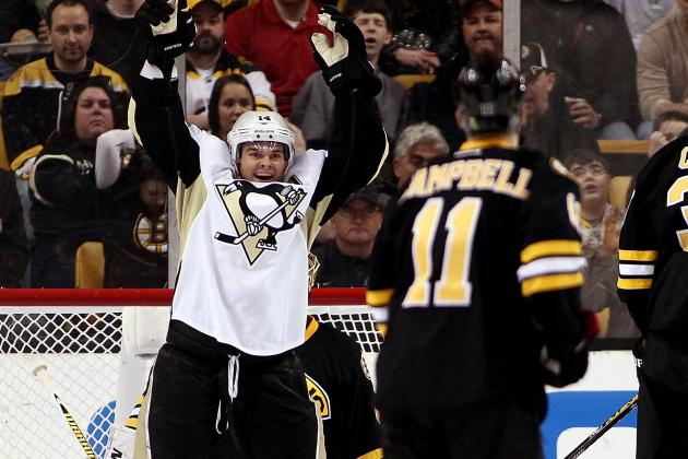 Penguins 3, Bruins 2