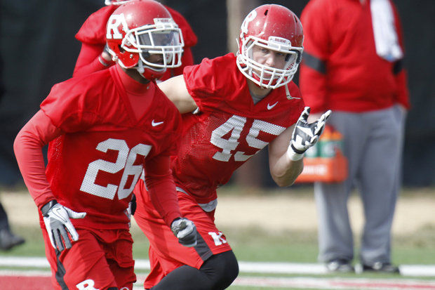 Rutgers Hoping Linebacking Unit Can Be Up to Last Year's Standards