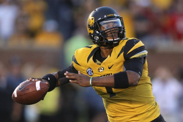 Missouri QBs Unsettled Ahead of Spring Game