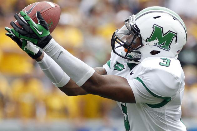 Aaron Dobson Scouting Report: NFL Outlook for Marshall WR