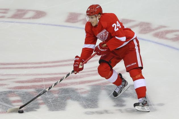 Red Wings' Damien Brunner Says 'it's on Us' to Create Scoring Chances