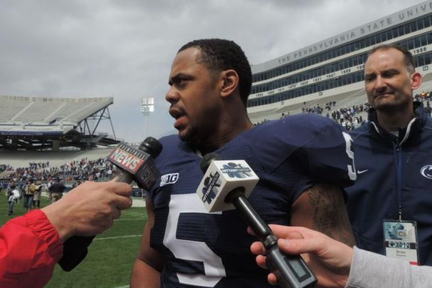 Penn State Football 2013 Spring Game: Who Are the Standout Defenders for PSU