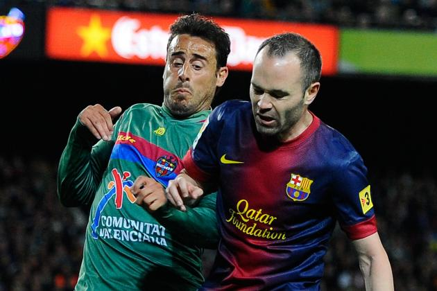 Barcelona 1-0 Levante: Cesc Nets Winner but Catalans Stutter Without Messi