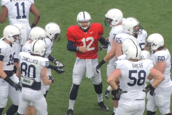 Penn State Football: Updating QB Battle Post-2013 Blue-White Game