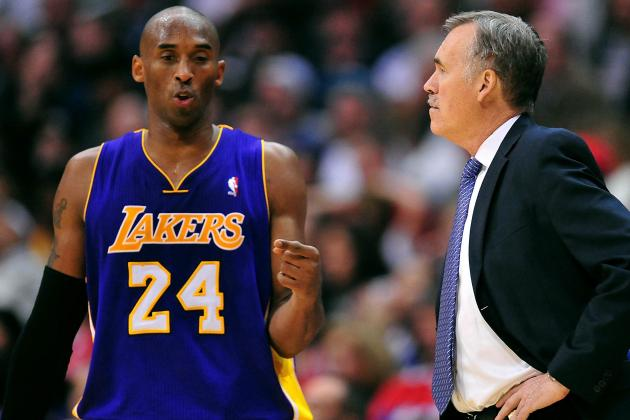 Mike D'Antoni Predicts Kobe Will Be Ready by Opener