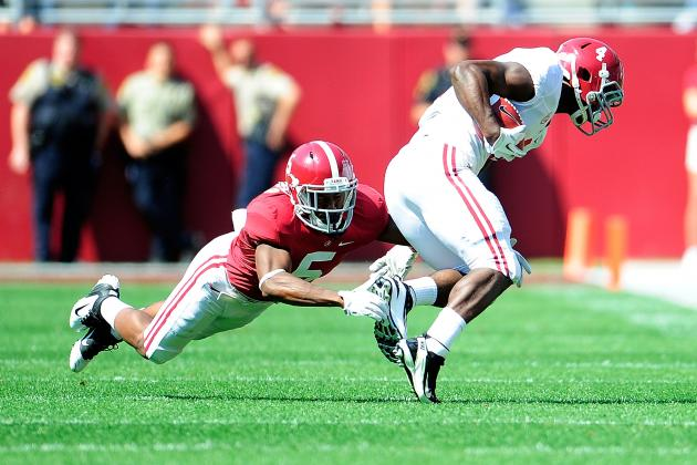 Alabama Spring Game 2013: Recap, Highlights and Analysis