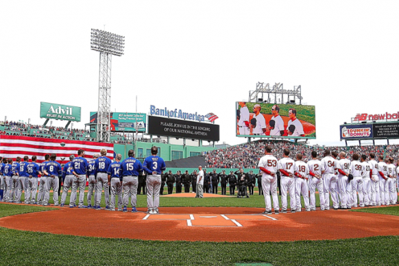 Boston Red Sox Pay Tribute to Marathon Victims with Touching Ceremony