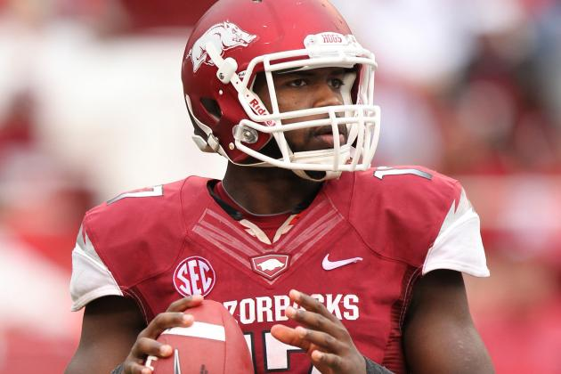 QBs Highlight Arkansas' Red-White Game