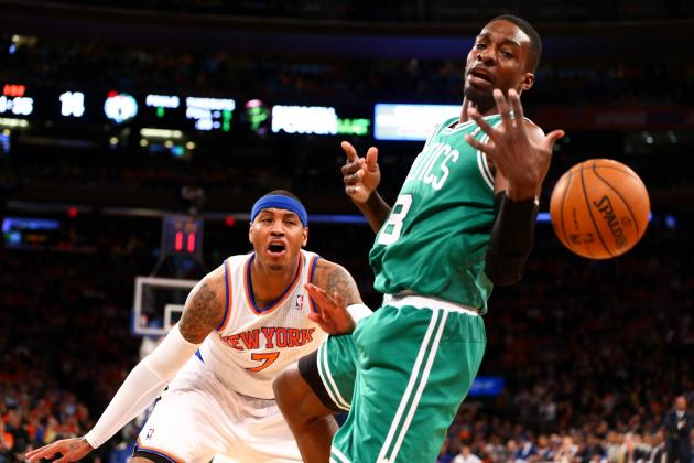 Knicks Hold Celtics to 25 Second Half Points in Game 1 Victory