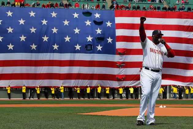 David Ortiz, Daniel Nava, Red Sox Do Boston Proud in Return to Fenway Park