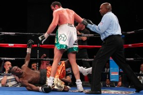 Size Matters as Tyson Fury Knocks out USS Cunningham in Seven