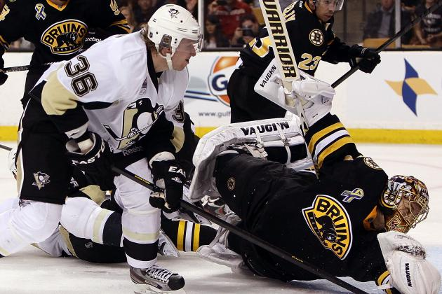 In Clinching Home Ice, Pens Exposed Bruins' Weaknesses