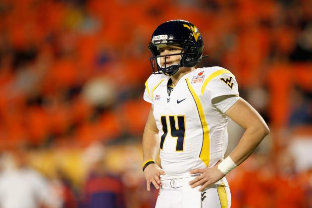 West Virginia Football 2013 Spring Game: QB Battle Will Come Down to the Wire