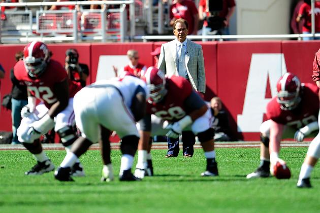 Alabama Football Spring Game 2013: Sloppy Offense a Reason for Concern?
