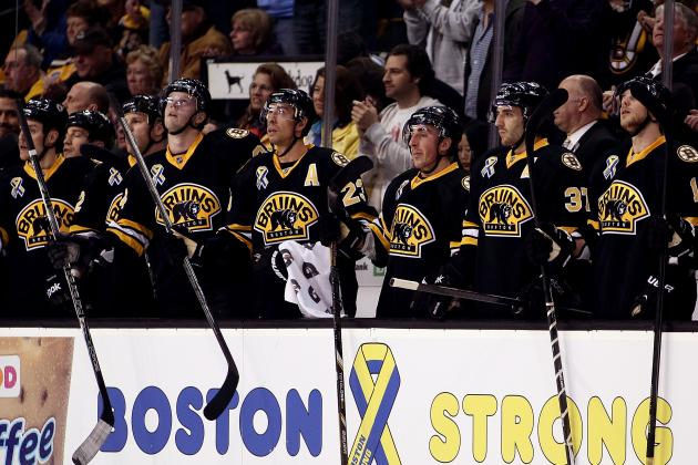 Bruins Fight Themselves as Playoffs Approach