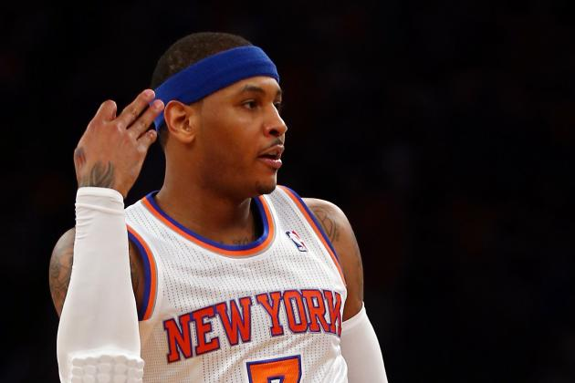 Carmelo Anthony's Game 1 Performance Proves Knicks Are Contenders in East