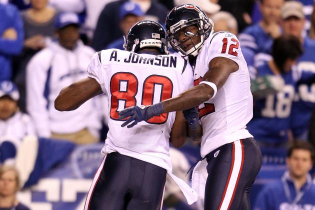 Jacoby Jones' Success on Field, Dance Floor Brings Smile to Andre Johnson's Face