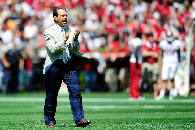 Alabama Football Spring Game 2013: Saban Gets Exactly What He Wanted from A-Day