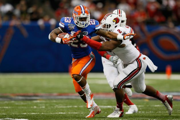 Mike Gillislee Scouting Report: NFL Outlook for Florida RB