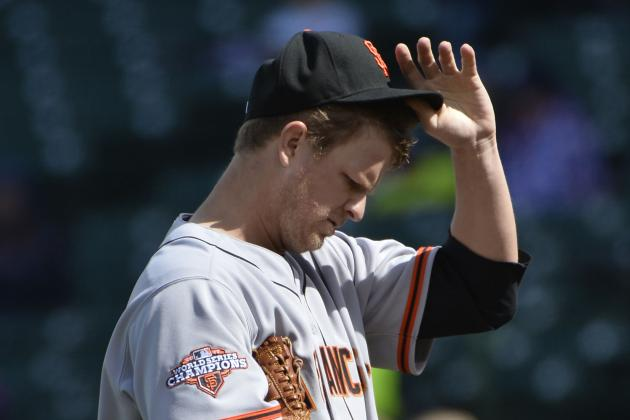 San Francisco Giants: Breaking Down the Early Struggles of the Starting Rotation
