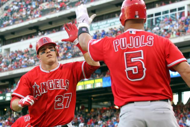 Mike Trout vs. Albert Pujols: Who Will Have the Better Season?