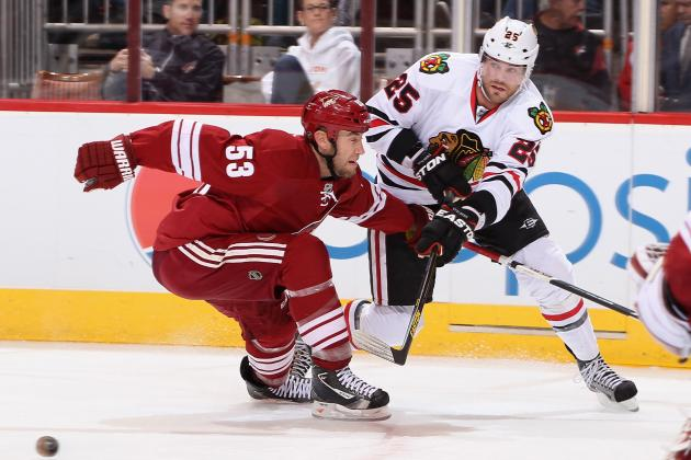Phoenix Coyotes vs. Chicago Blackhawks - GameCast - April 20, 2013 - ESPN