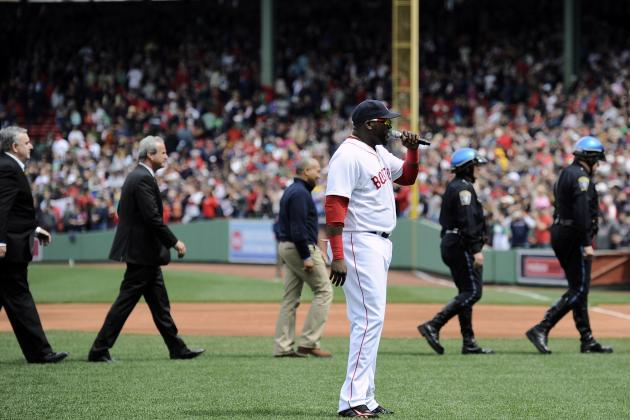 David Ortiz Gives NSFW Speech at Boston Red Sox's Fenway Park Return