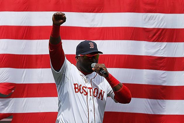 David Ortiz Gives NSFW Speech at Boston Red Sox's Fenway Park Return