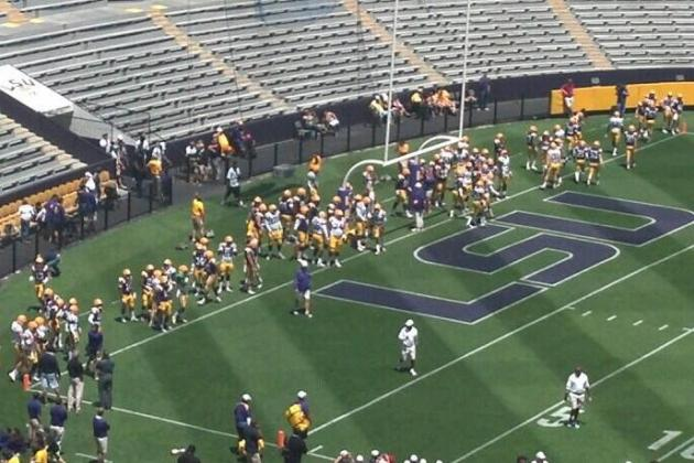 LSU Football 2013 Spring Game: How Young Defense Will Take Shape Before Fall