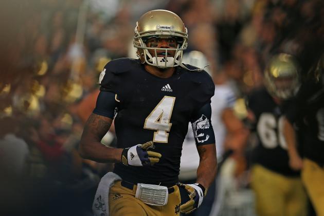 Notre Dame Football 2013 Spring Game: Blue Gold Game Puts Spotlight on RB Battle