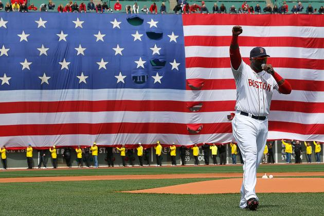 Boston Red Sox Give the City of Boston a Proper Thank You