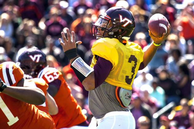Virginia Tech Football: Logan Thomas' Struggles Put Offense in Jeopardy