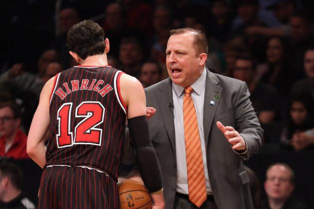 Kirk Hinrich Injury: Updates on Bulls Guard's Thigh
