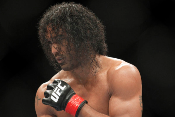Ben Henderson Proposes After Record-Tying Title Defense
