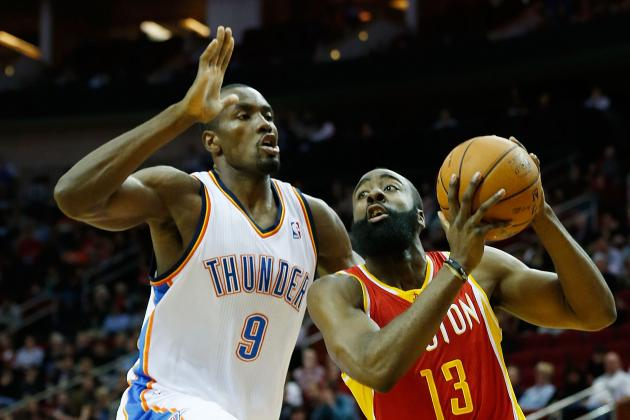 Houston Rockets vs. Oklahoma City Thunder: Projecting Top Performers in Game 1
