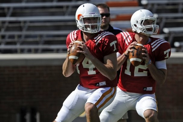 Tennessee Football: Updating Vols QB Battle Post 2013 Orange and White Game