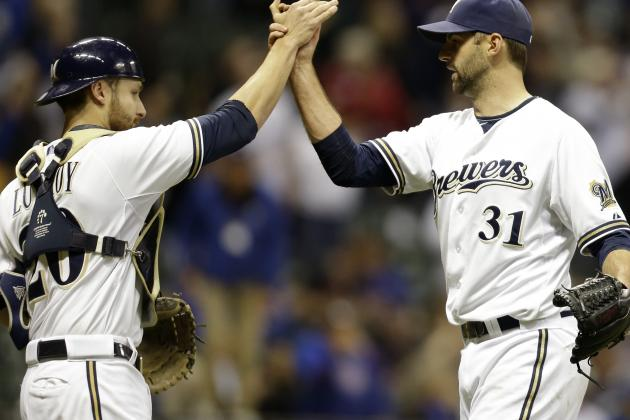 Lucroy Powers Brewers to Sixth Straight Victory